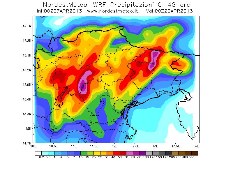 Clicca l'immagine per ingrandirla.  Nome: pioggia in 48h.png Visualizzazioni: 19 Dimensione: 24.1 KB ID: 29422