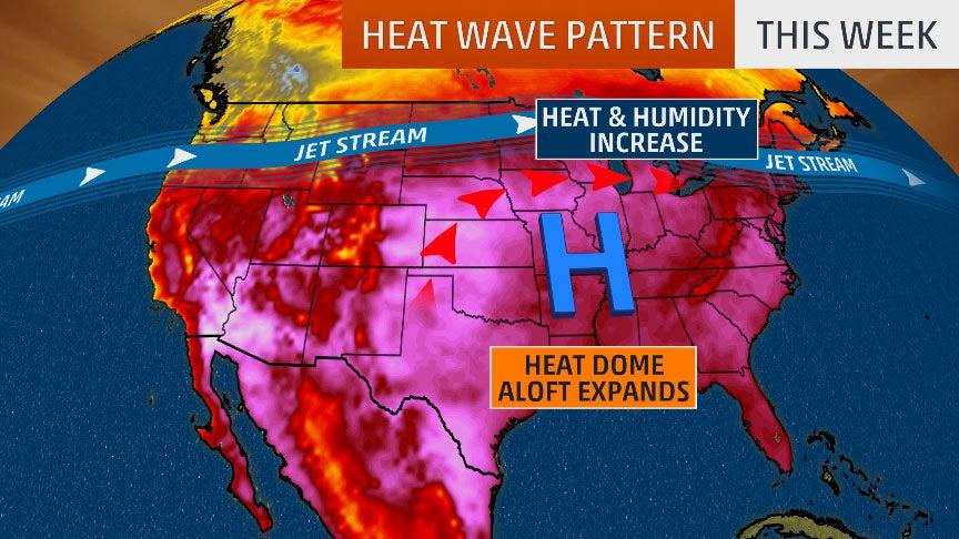 Clicca l'immagine per ingrandirla.  Nome: heat-wave Midwest July 2019.jpg Visualizzazioni: 48 Dimensione: 111.1 KB ID: 95117