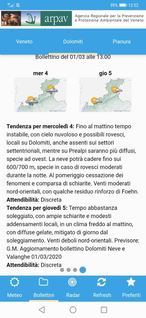 Clicca l'immagine per ingrandirla.  Nome: Screenshot_20200301_135253_com.tecnoteca.arpav.meteo.jpg Visualizzazioni: 41 Dimensione: 71.2 KB ID: 98298